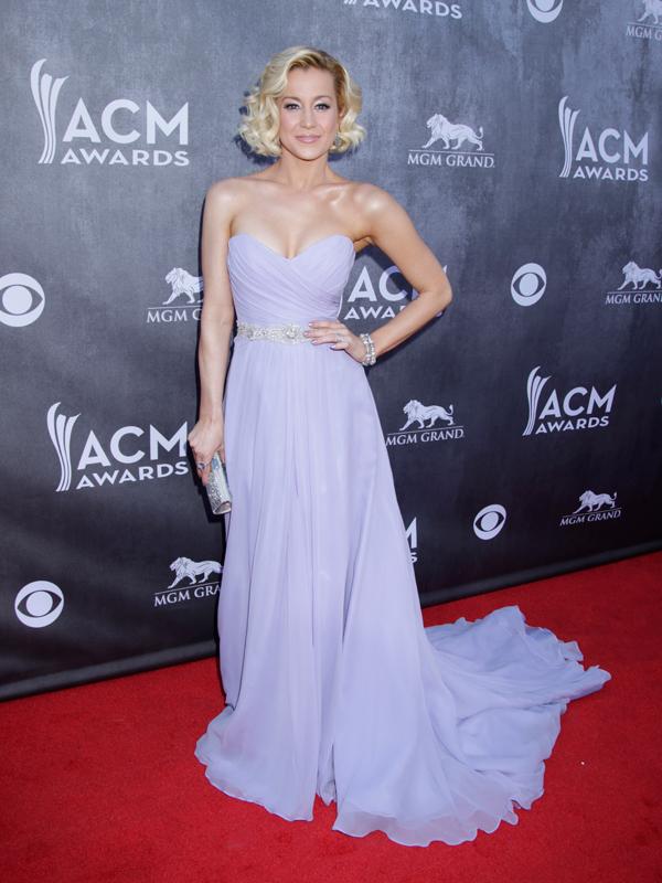 Kellie Pickler on the Red Carpet - 49th ACM Awards