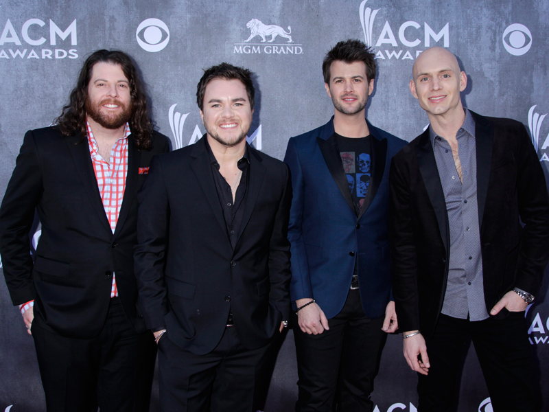 The Eli Young Band on the Red Carpet - 49th ACM Awards