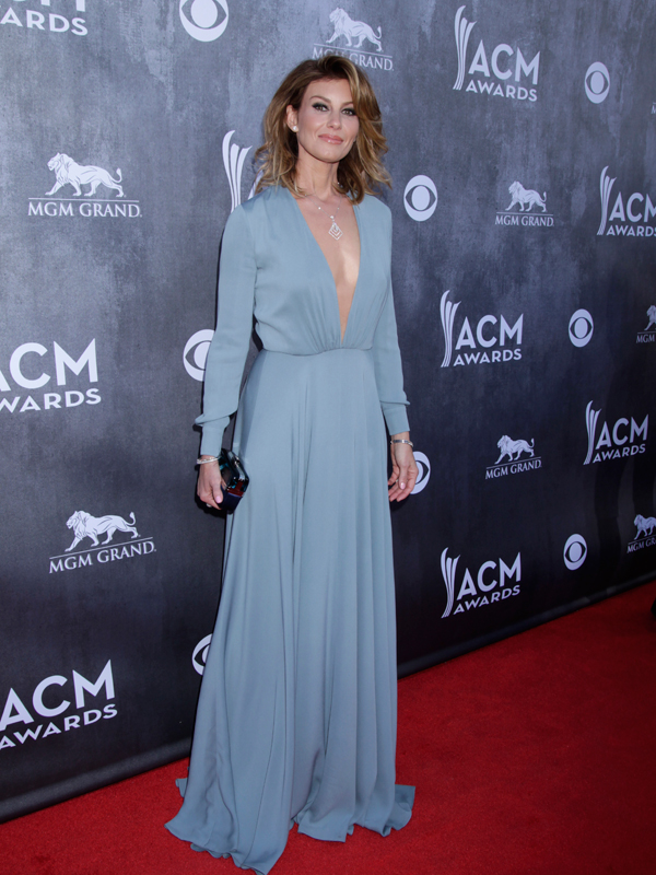 Faith Hill on the Red Carpet - 49th ACM Awards