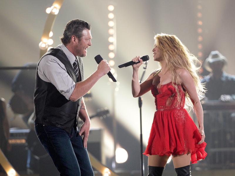 Co-Host Blake Shelton and Shakira Perform - 49th ACM Awards