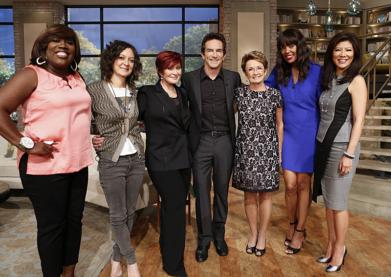 Jeff Probst and his mother stop by THE TALK