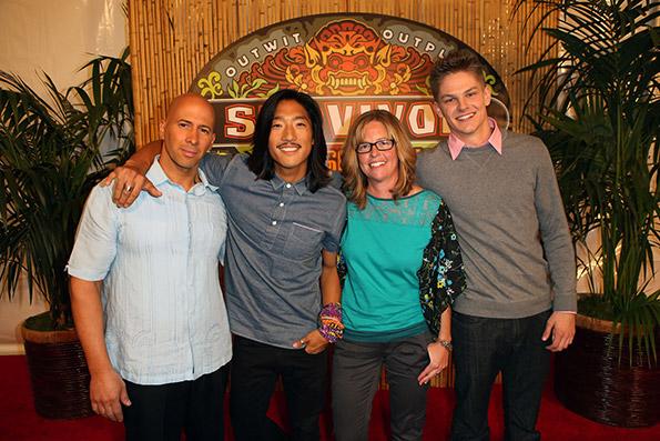 Final four Survivor contestants