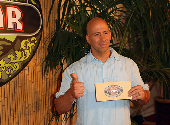 Survivor Winner Tony and His Million Dollar Check