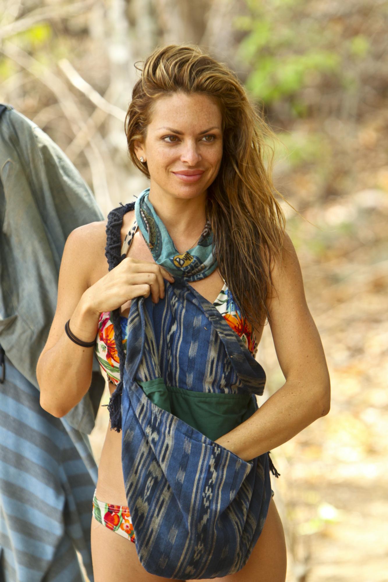 Julie at camp