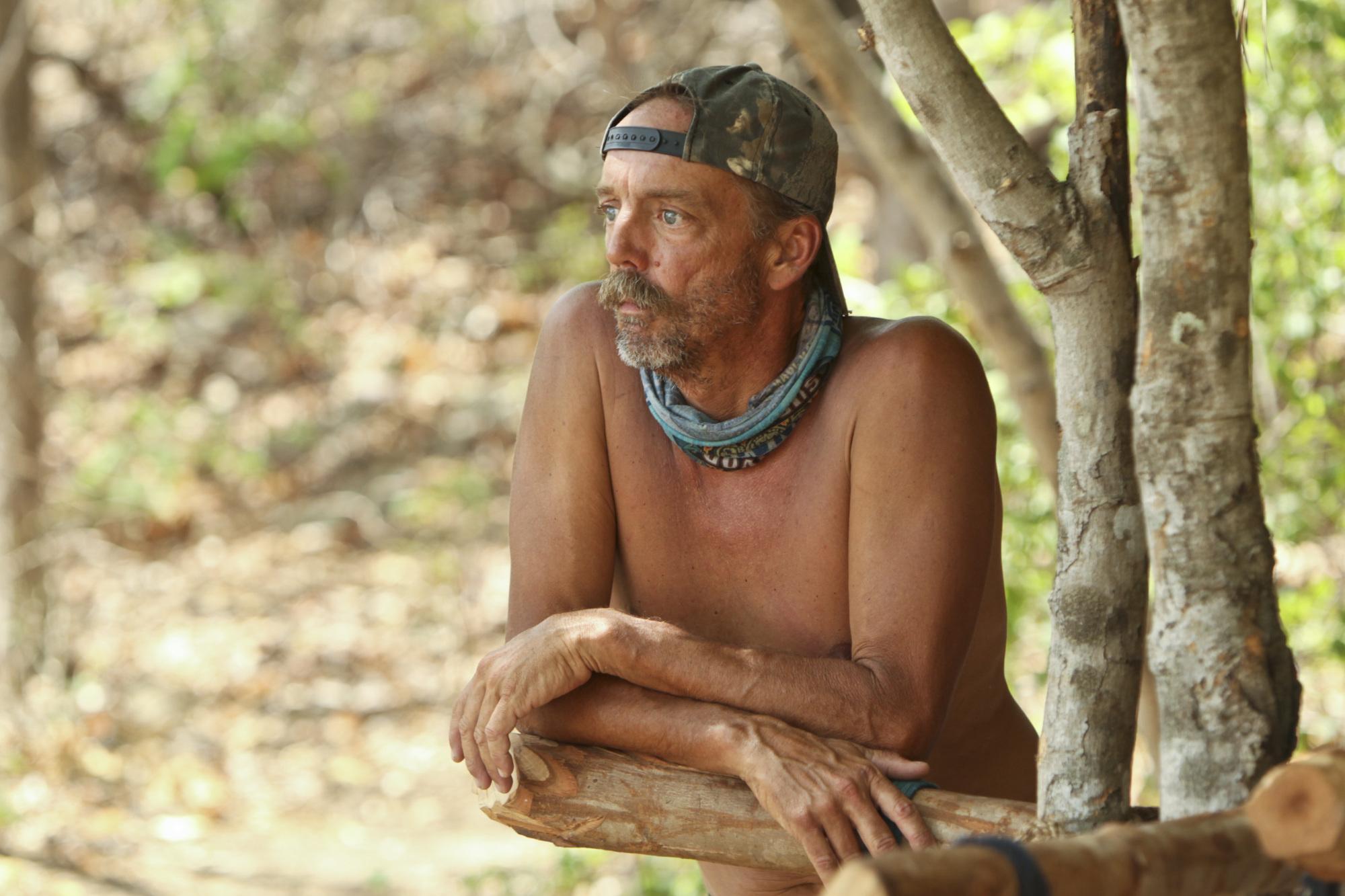 Keith at camp