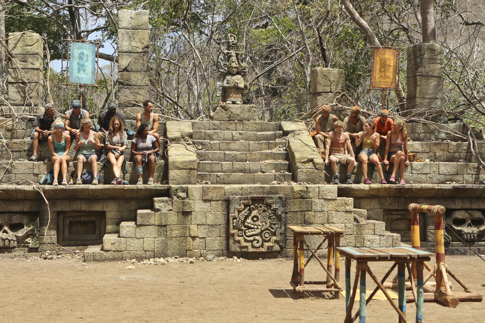 Hunahpu and Coyopa tribes