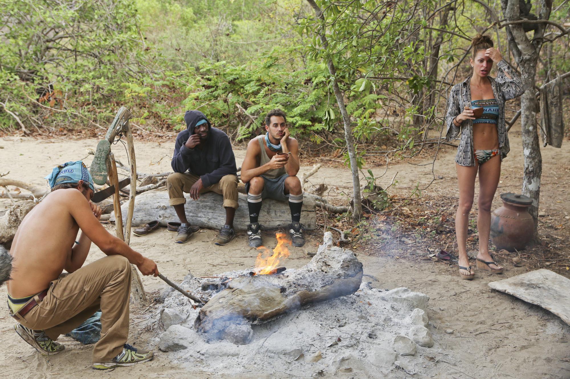 Hunahpu at camp