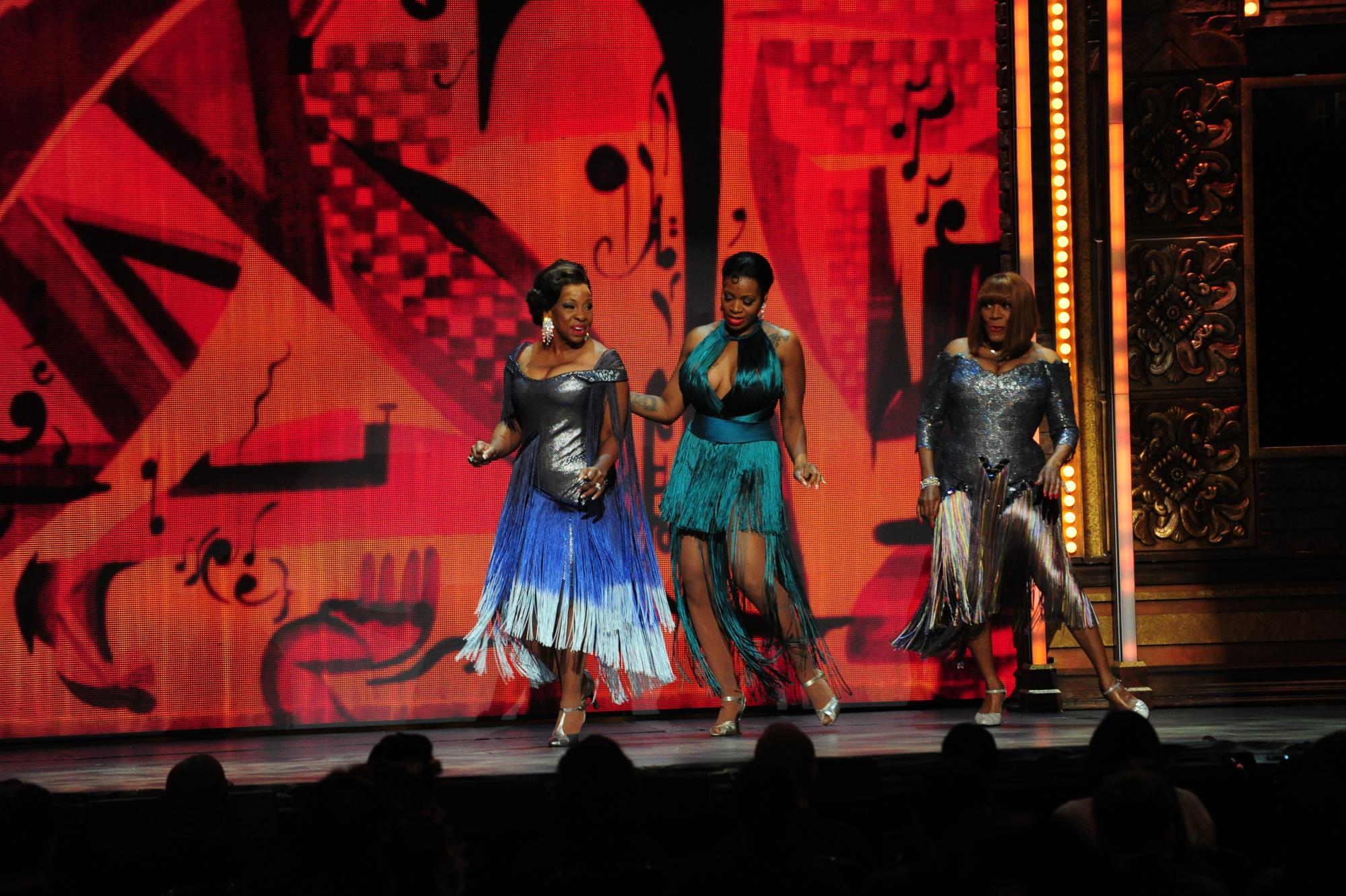 Gladys Knight, Fantasia, Patti LaBelle - 2014 Tony Awards - CBS.com