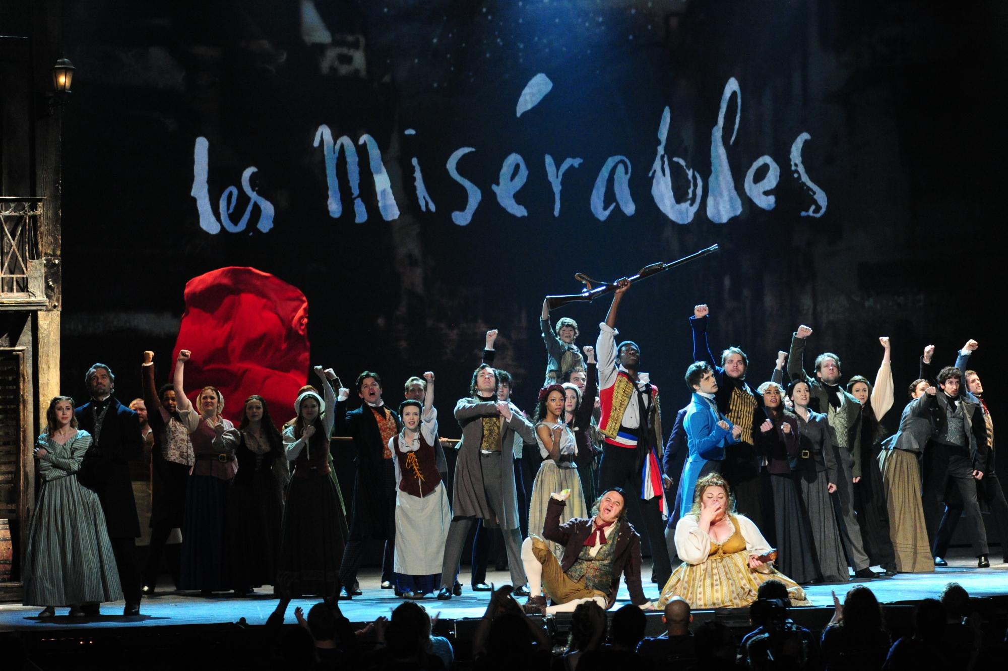 The Cast of Les Miserables - 2014 Tony Awards - CBS.com