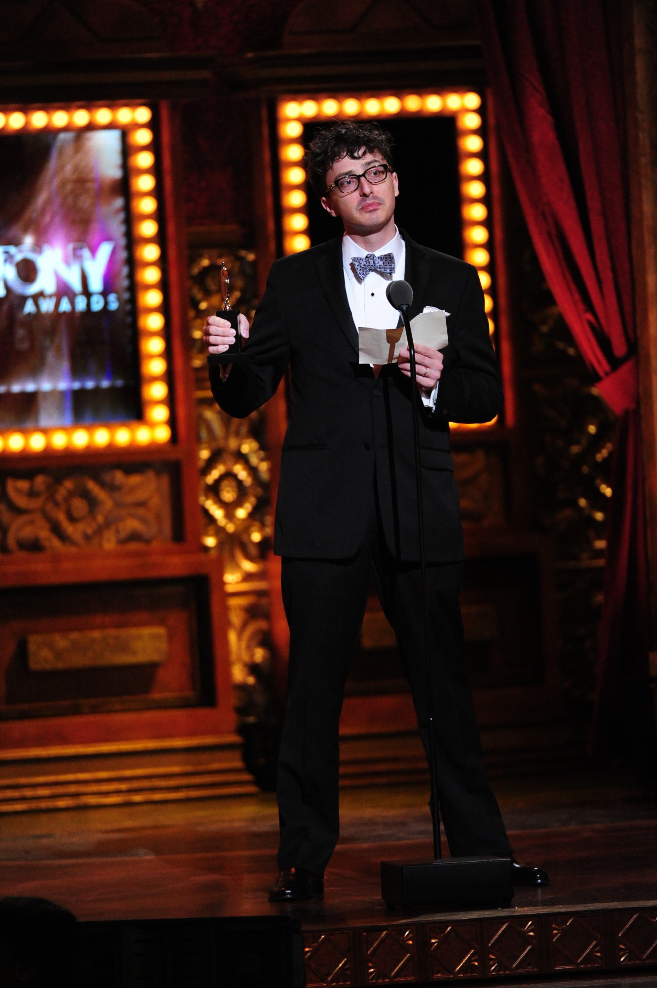 winner Best Scenic Design of a Play Beowulf Boritt for Act One - 2014 Tony Awards