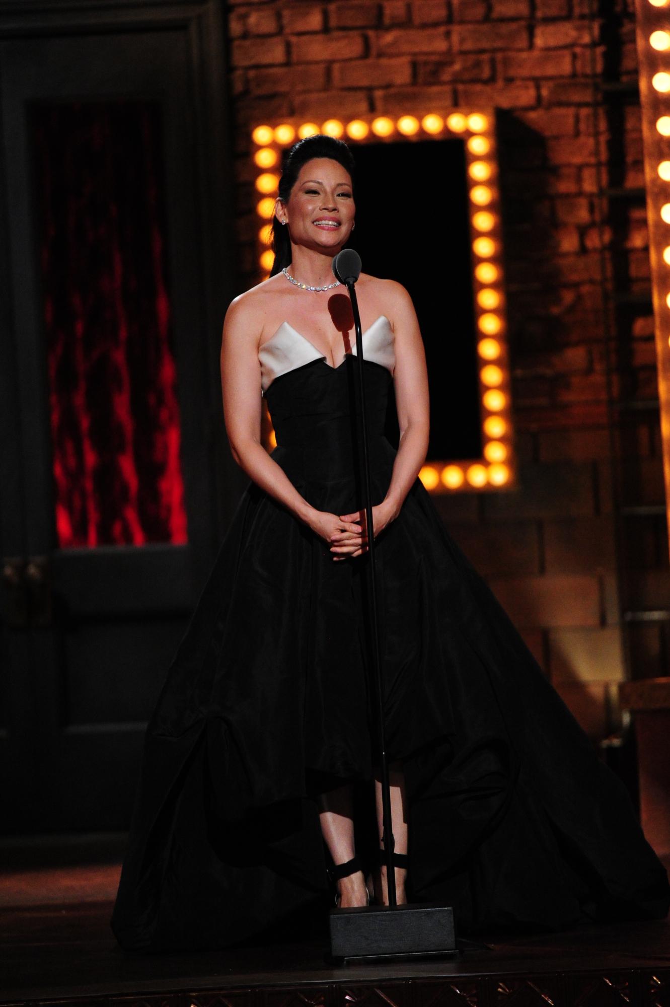 Lucy Liu - 2014 Tony Awards