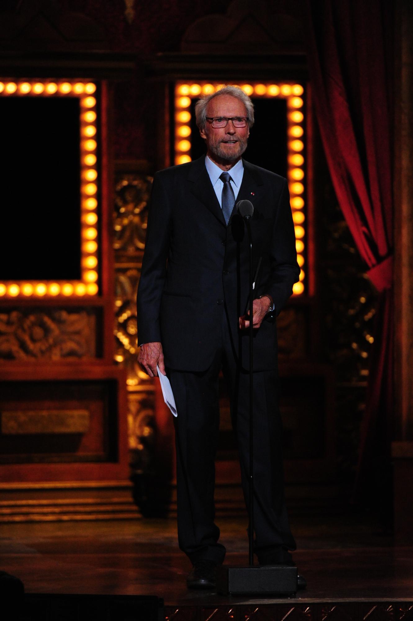 Clint Eastwood - 2014 Tony Awards