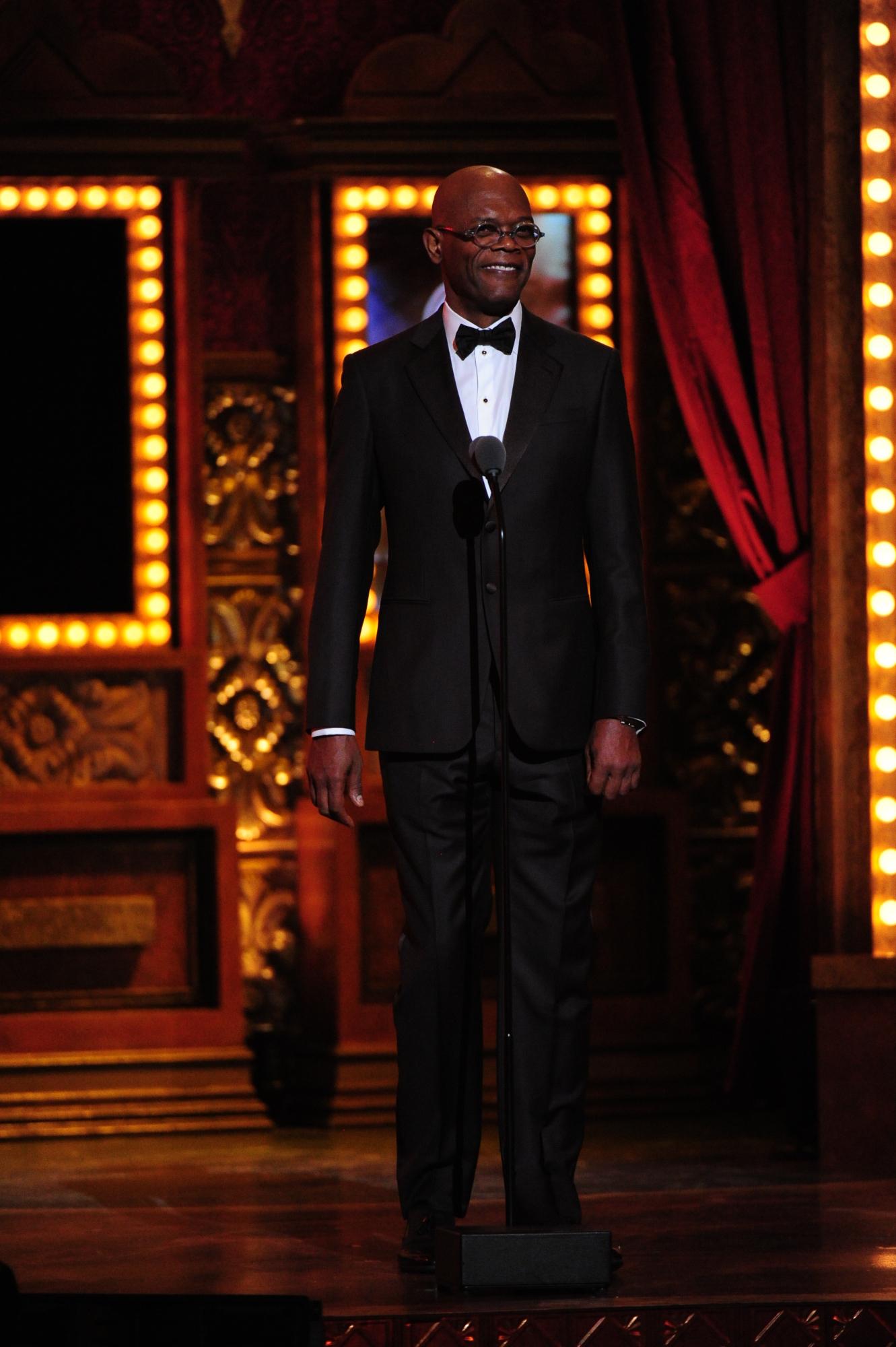 Samuel L. Jackson - 2014 Tony Awards
