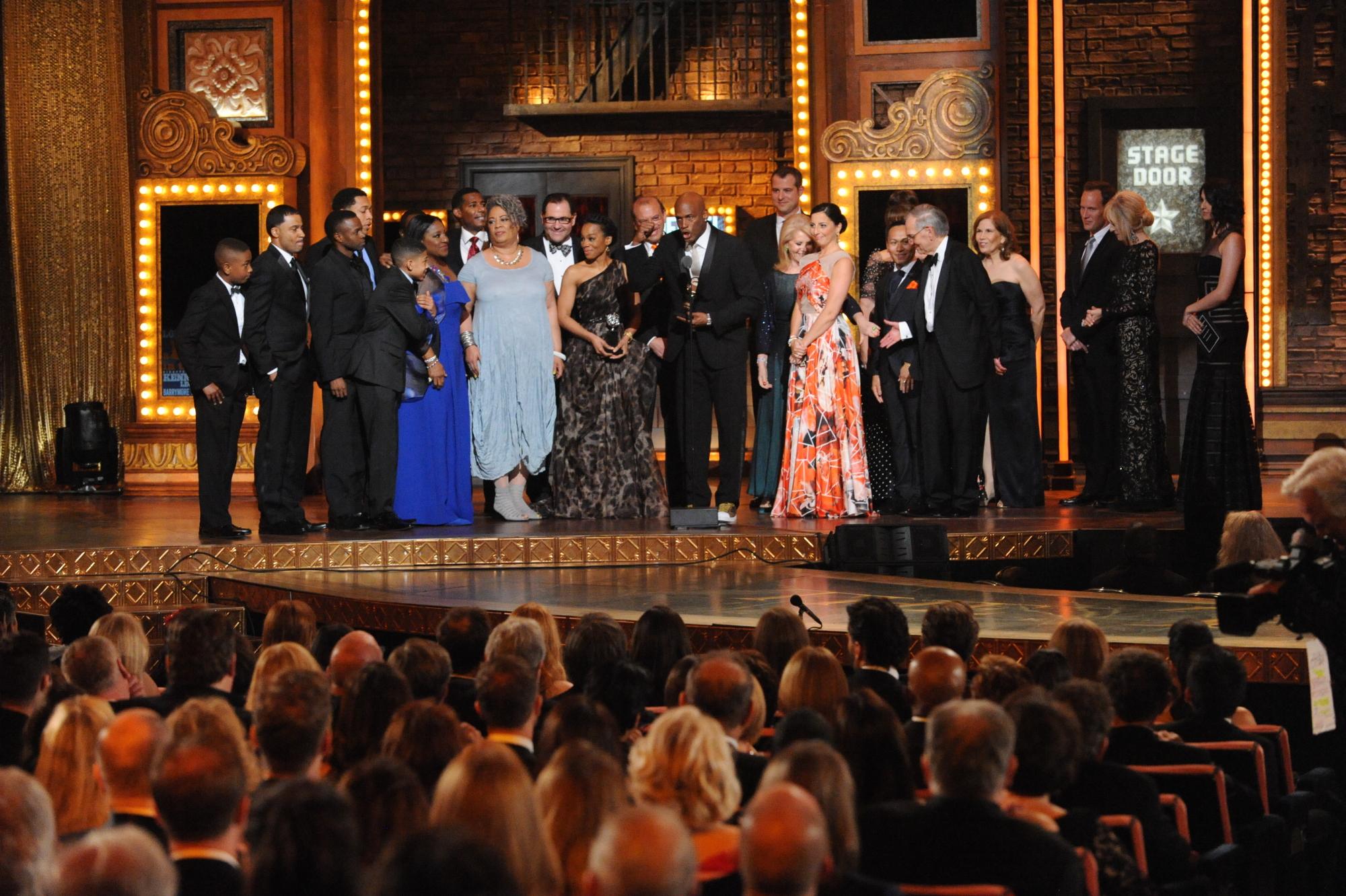 Winner Best Revival of a Play A Raisin in the Sun - 2014 Tony Awards