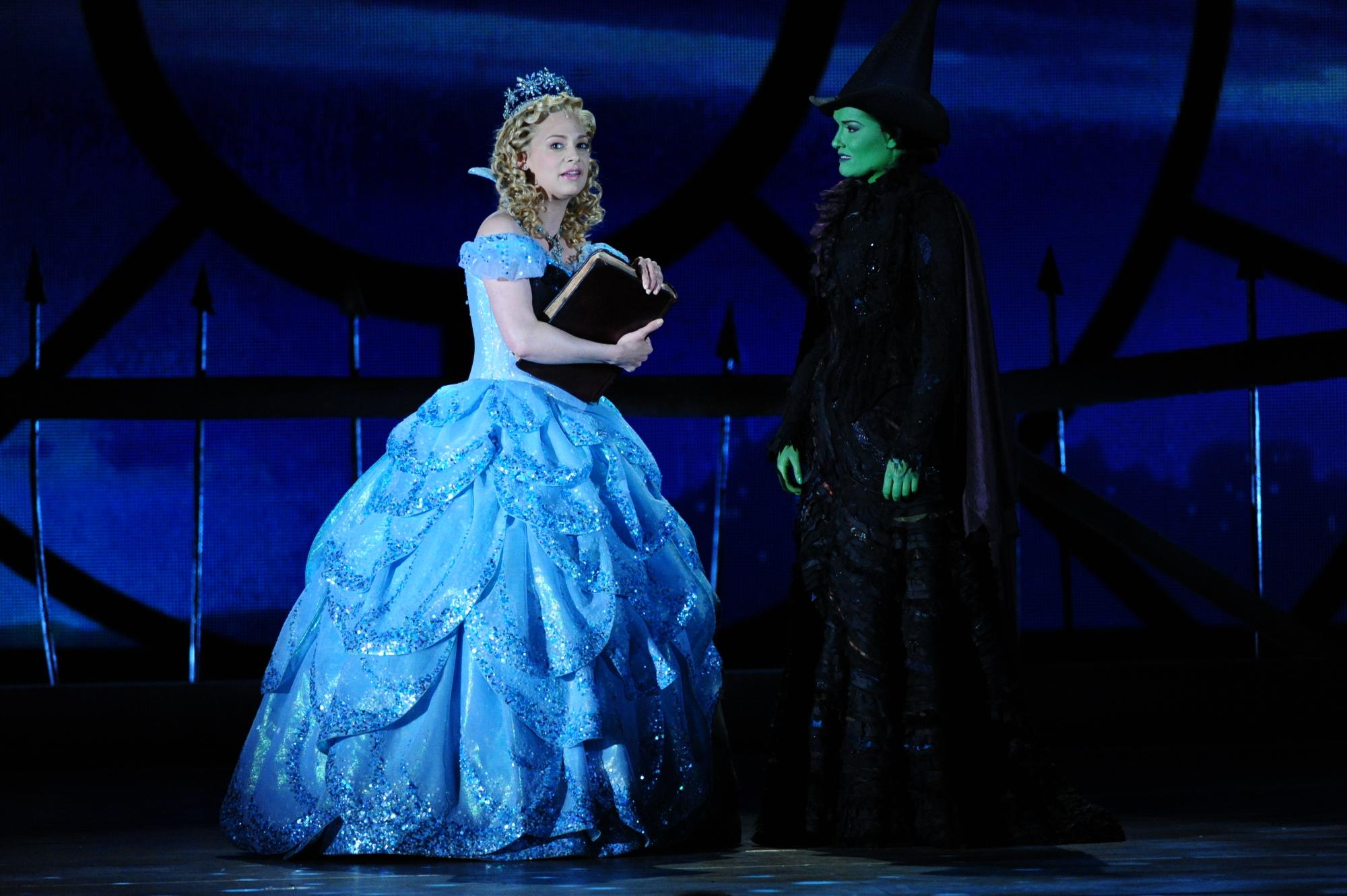 The cast of Wicked - 2014 Tony Awards