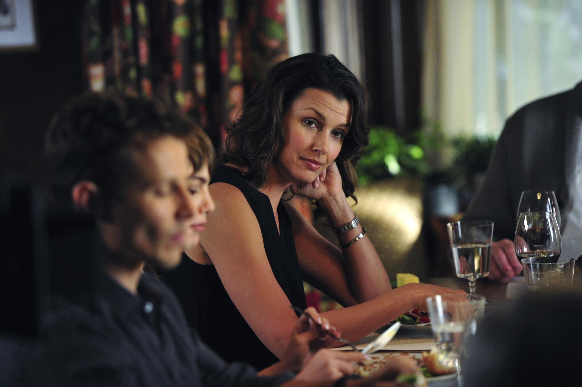 Erin at Family Dinner  - S5E3