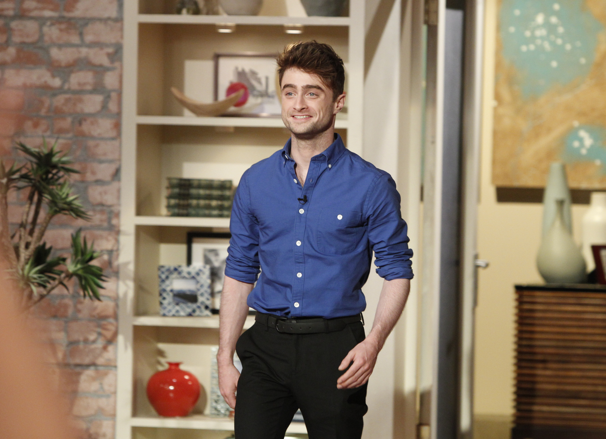 Daniel Radcliffe, star of CBS Films'
