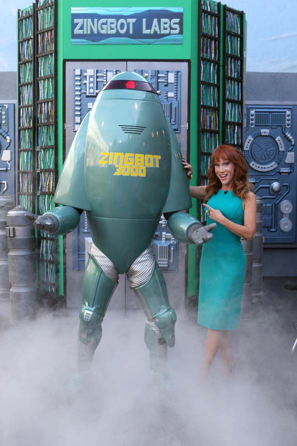 Zingbot is joined by Kathy Griffin