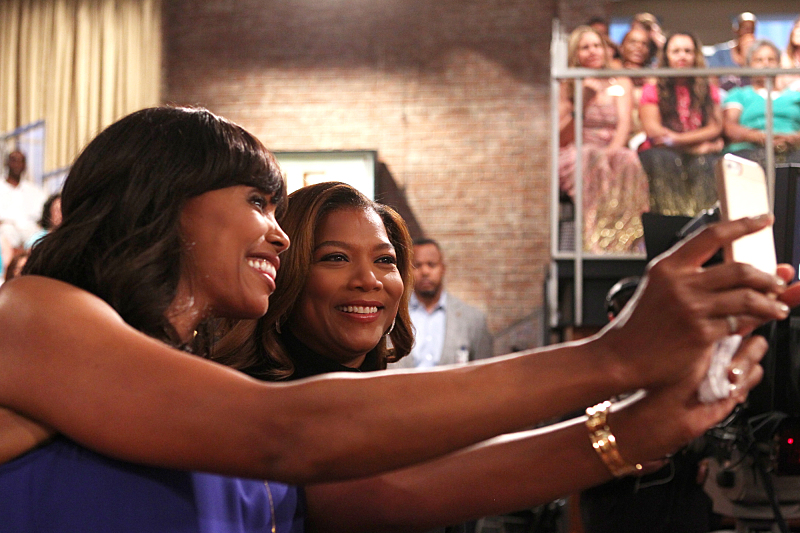 Aisha Tyler and Queen Latifah