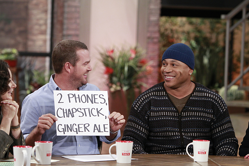 Chris O'Donnell and LL Cool J have some fun on THE TALK