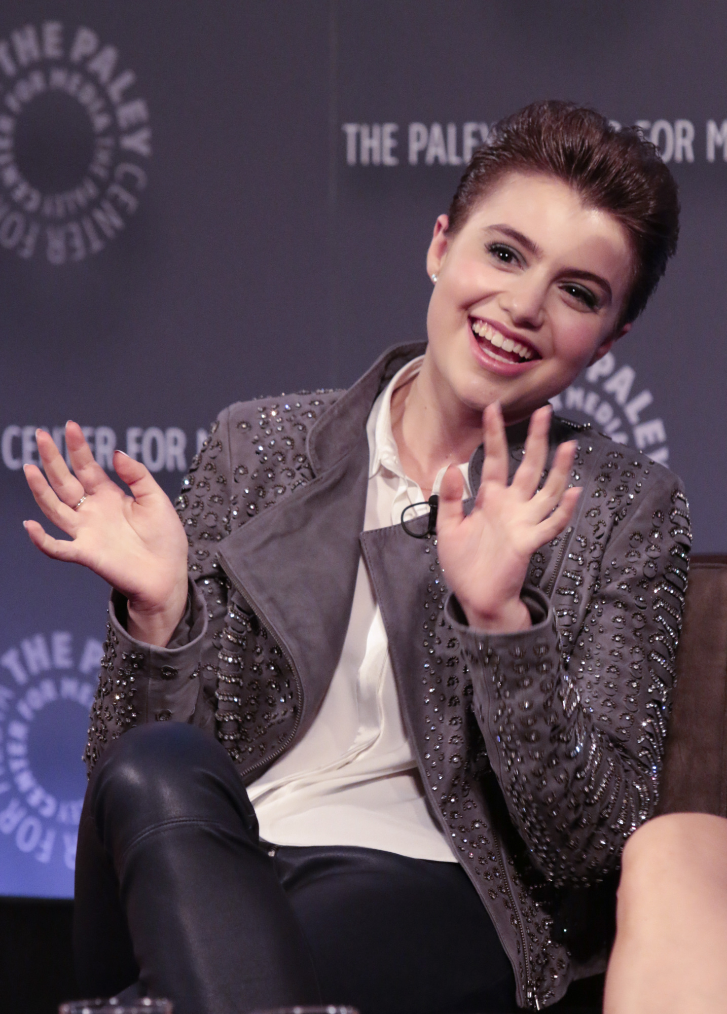 16. Sami Gayle never stopping the fun.