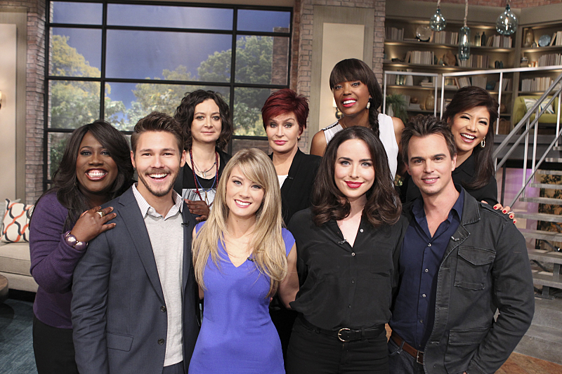 The Bold and the Beautiful cast visits THE TALK
