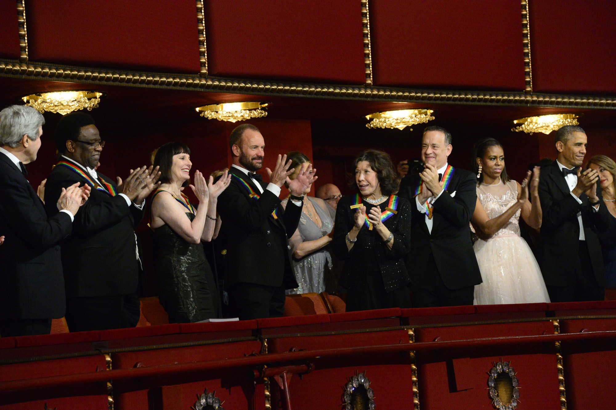 The Honorees at the 37th Annual Kennedy Center Honors