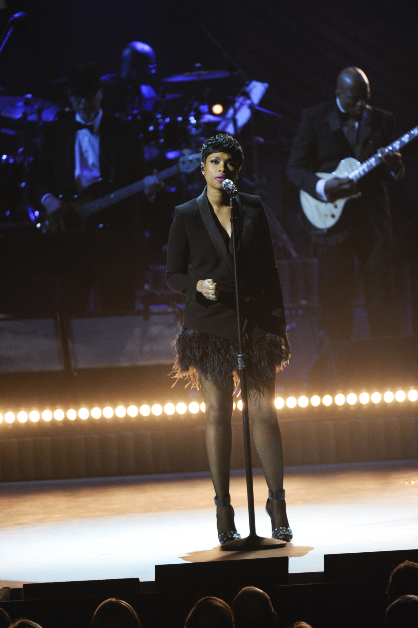 Jennifer Hudson Performs at the 2014 Kennedy Center Honors