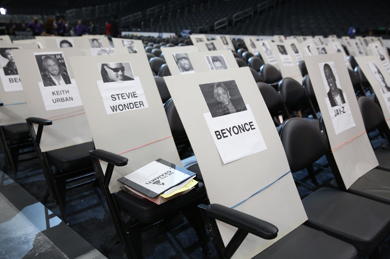 Find out where your favorite stars are sitting!