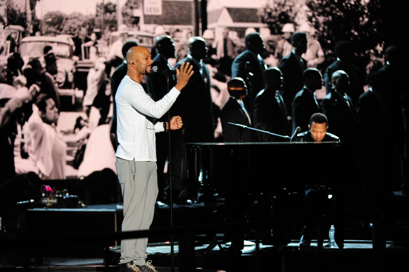 Common and John Legend Rehearse