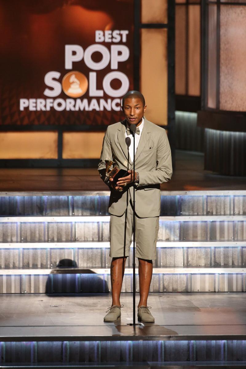 Pharrell Williams, winner of Best Pop Solo Performance