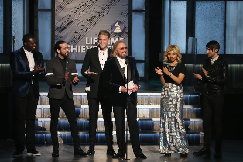 Pentatonix and Barry Gibb
