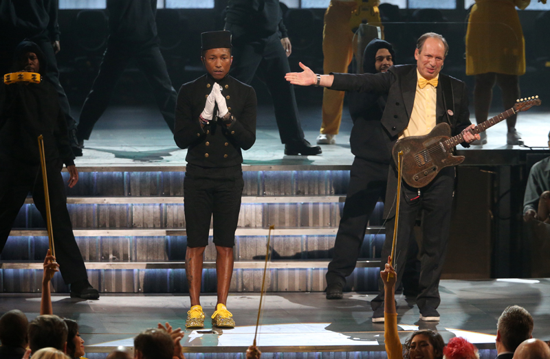 Pharrell Williams and Hans Zimmer