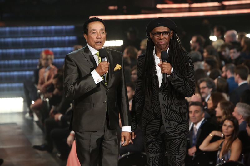 Smokey Robinson and Nile Rodgers