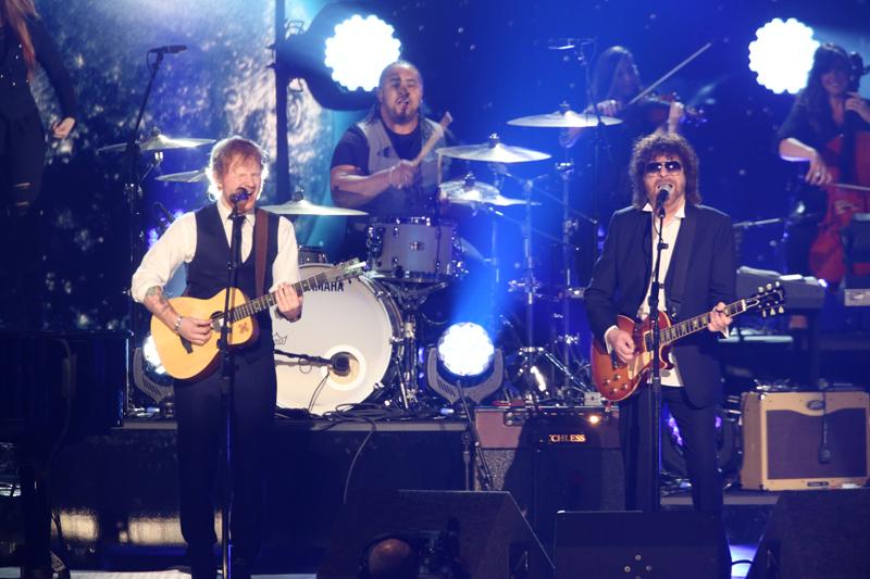 Ed Sheeran and ELO