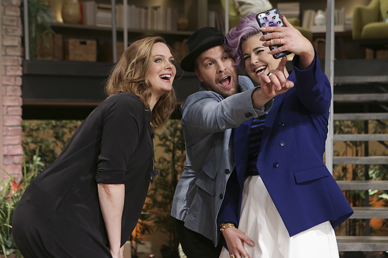 Emily Deschanel, Gavin DeGraw and Kelly Osbourne