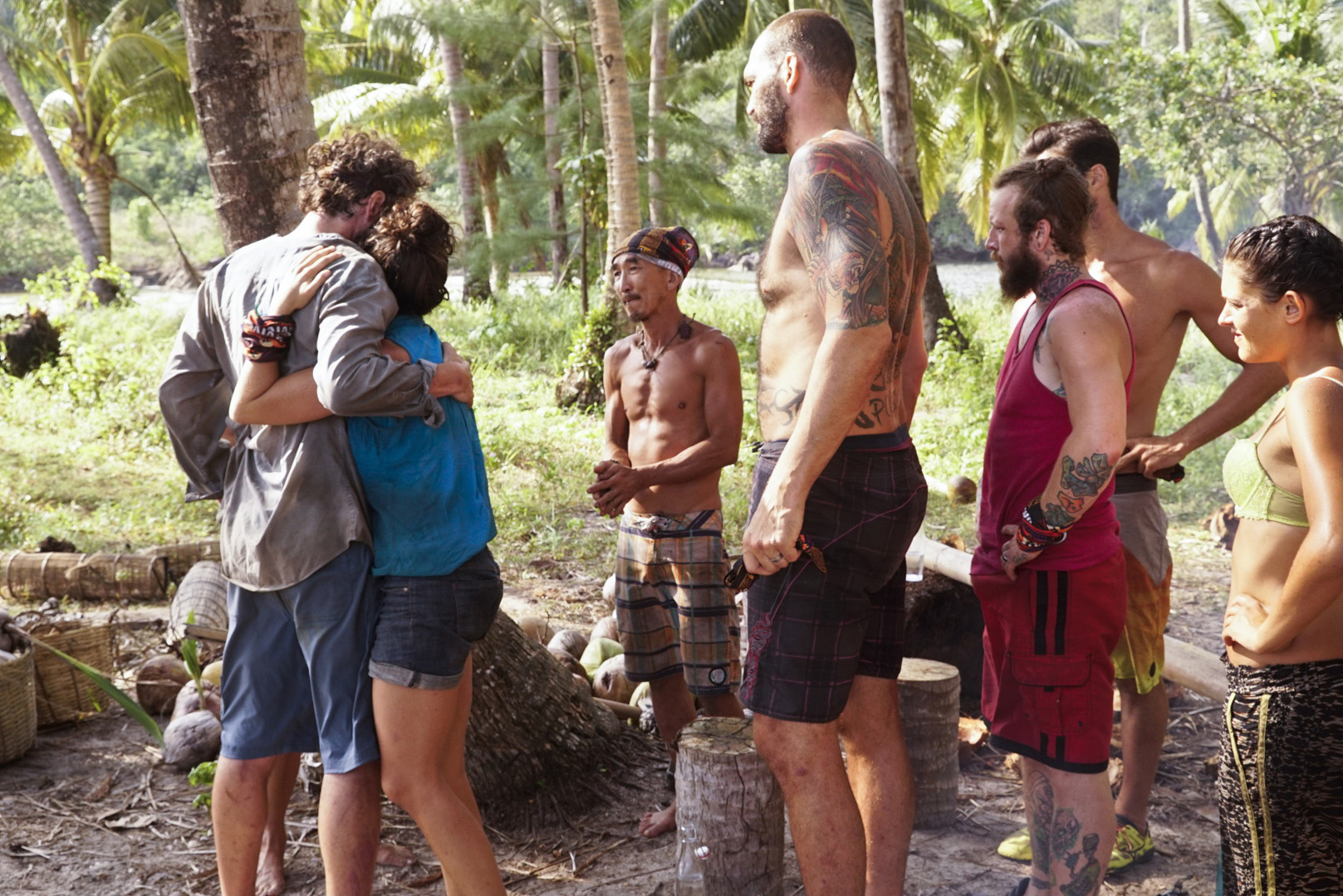 2. Did you consider secretly passing on your Immunity Idol to Aubry or anyone else before leaving the game?