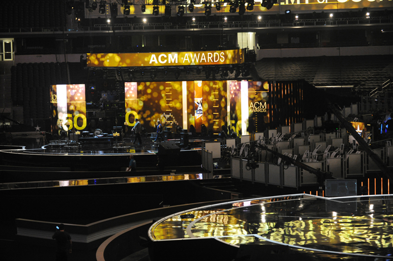 The 50th ACM Awards head to a new playing field.
