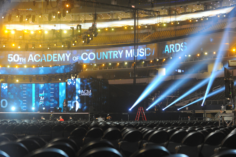 Behind the scenes at day 1 of ACM dress rehearsals.