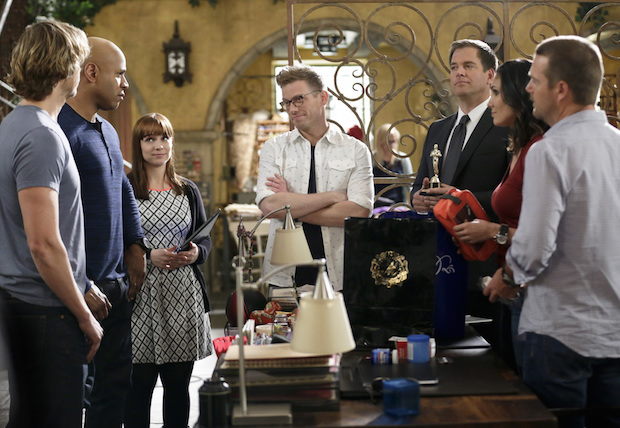 NCIS: Los Angeles making plans with a +1