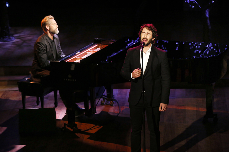 Josh Groban gave an amazing performance