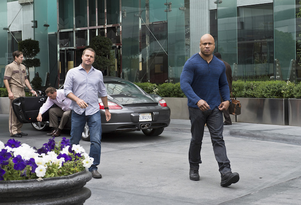 Callen and Hanna keep it cool