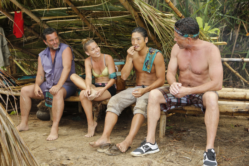 The castaways prepare for another challenge from back in the day