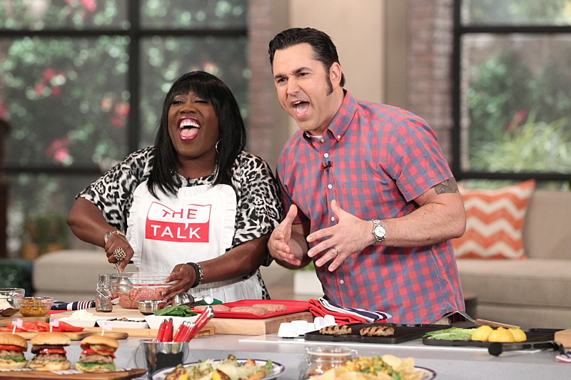 David Guas and Sheryl hit it off in the kitchen