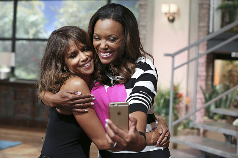 Halle Berry and Aisha Tyler