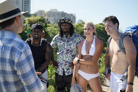 1. What was your favorite experience during The Amazing Race?