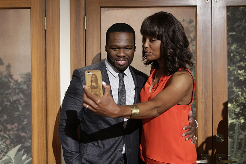 50 Cent and Aisha Tyler