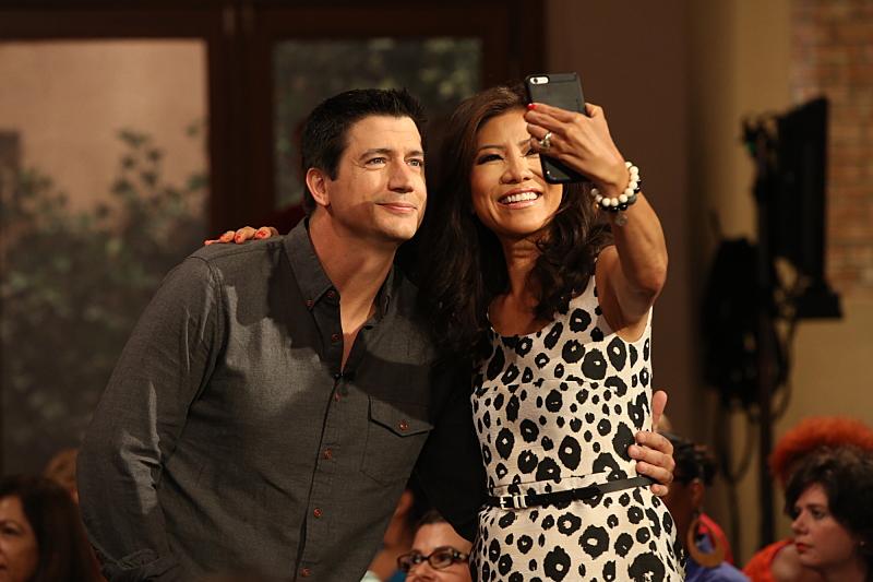 Julie Chen loves a good selfie
