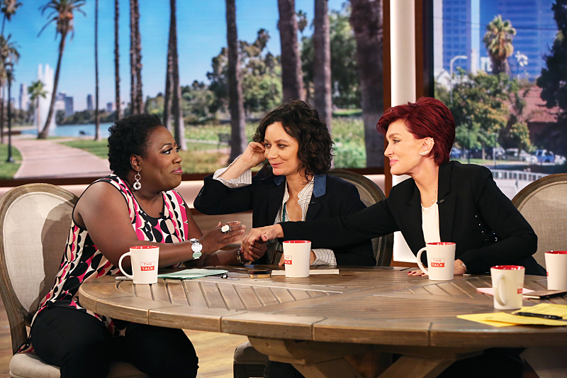 She supports her co-hosts