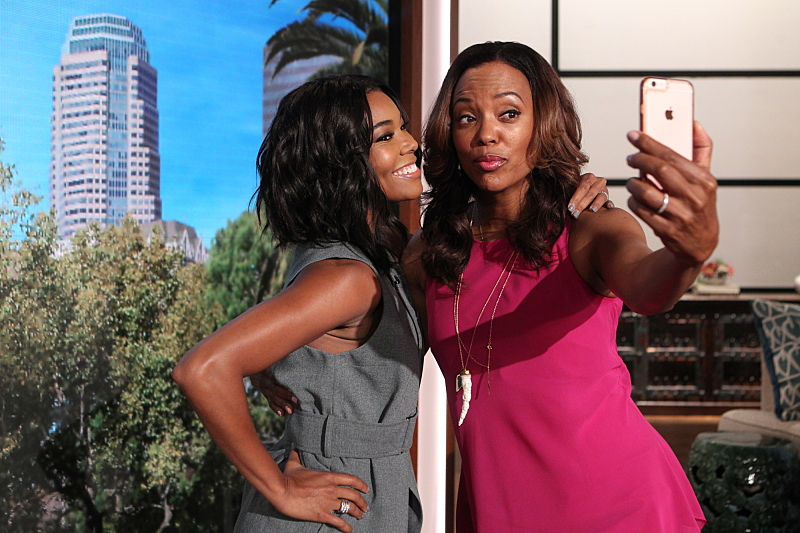Gabrielle Union and Aisha Tyler